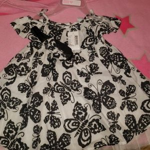 Dress with diaper cover and headband